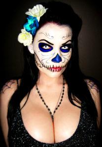 Dahlia Dark Dia De Los Muertos